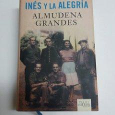 Libros de segunda mano: LIBRO INES Y LA ALEGRIA 1° EDICION MAXI 2011. Lote 95652752
