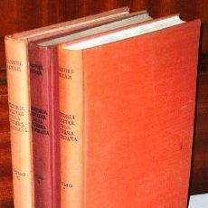 Libros de segunda mano: HISTORIA MILITAR DE LA GUERRA DE ESPAÑA 3T POR MANUEL AZNAR DE ED NACIONAL EN MADRID 1963 3ª EDICIÓN. Lote 95994527
