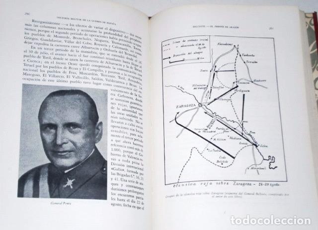 Libros de segunda mano: Historia militar de la Guerra de España 3T por Manuel Aznar de Ed Nacional en Madrid 1963 3ª Edición - Foto 2 - 95994527