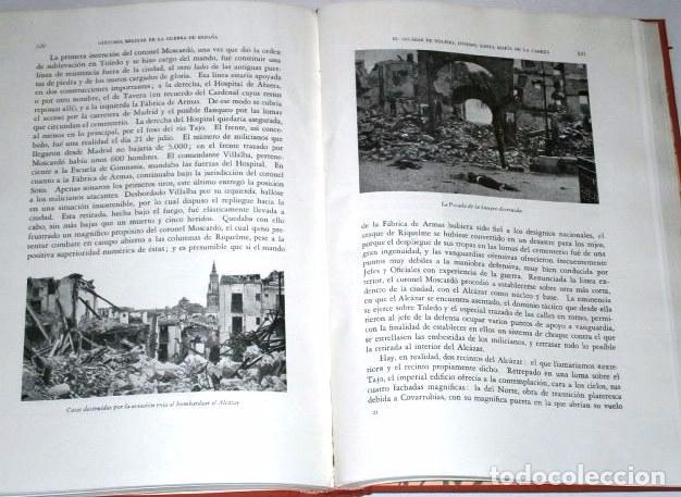 Libros de segunda mano: Historia militar de la Guerra de España 3T por Manuel Aznar de Ed Nacional en Madrid 1963 3ª Edición - Foto 3 - 95994527