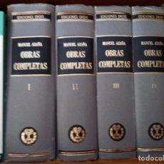 Libros de segunda mano: AZAÑA. OBRAS COMPLETAS OASIS. PRIMERA EDICIÓN. Lote 96793679