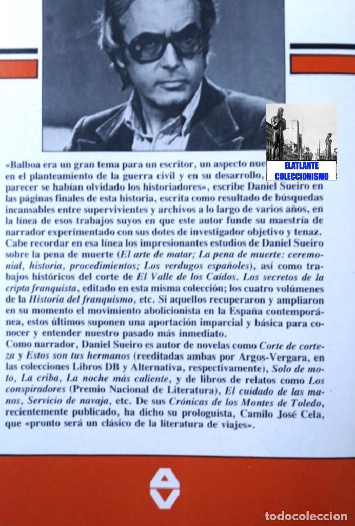 Libros de segunda mano: LA FLOTA ES ROJA PAPEL CLAVE RADIOTELEGRAFISTA BENJAMIN BALBOA - DANIEL SUEIRO GUERRA CIVIL EN MAR - Foto 5 - 97780707