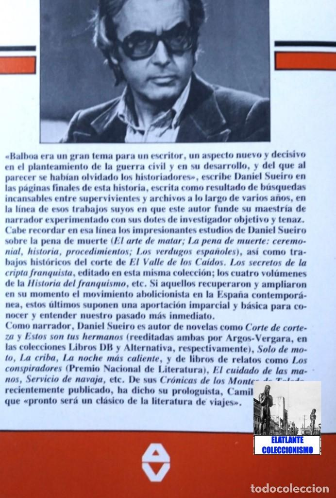 Libros de segunda mano: LA FLOTA ES ROJA PAPEL CLAVE RADIOTELEGRAFISTA BENJAMIN BALBOA - DANIEL SUEIRO GUERRA CIVIL EN MAR - Foto 6 - 97780707