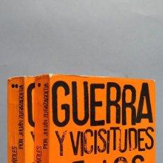 Libros de segunda mano: GUERRA Y VICISITUDES DE LOS ESPAÑOLES. JULIAN ZUGAZAGOITIA. 2 TOMOS. Lote 97882511