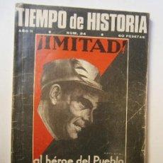 Libros de segunda mano: HISTORIA MILITAR - TIEMPO DE HISTORIA N 24 DURUTI UN REVOLUCIONARIO DEL PUEBLO. Lote 129995570