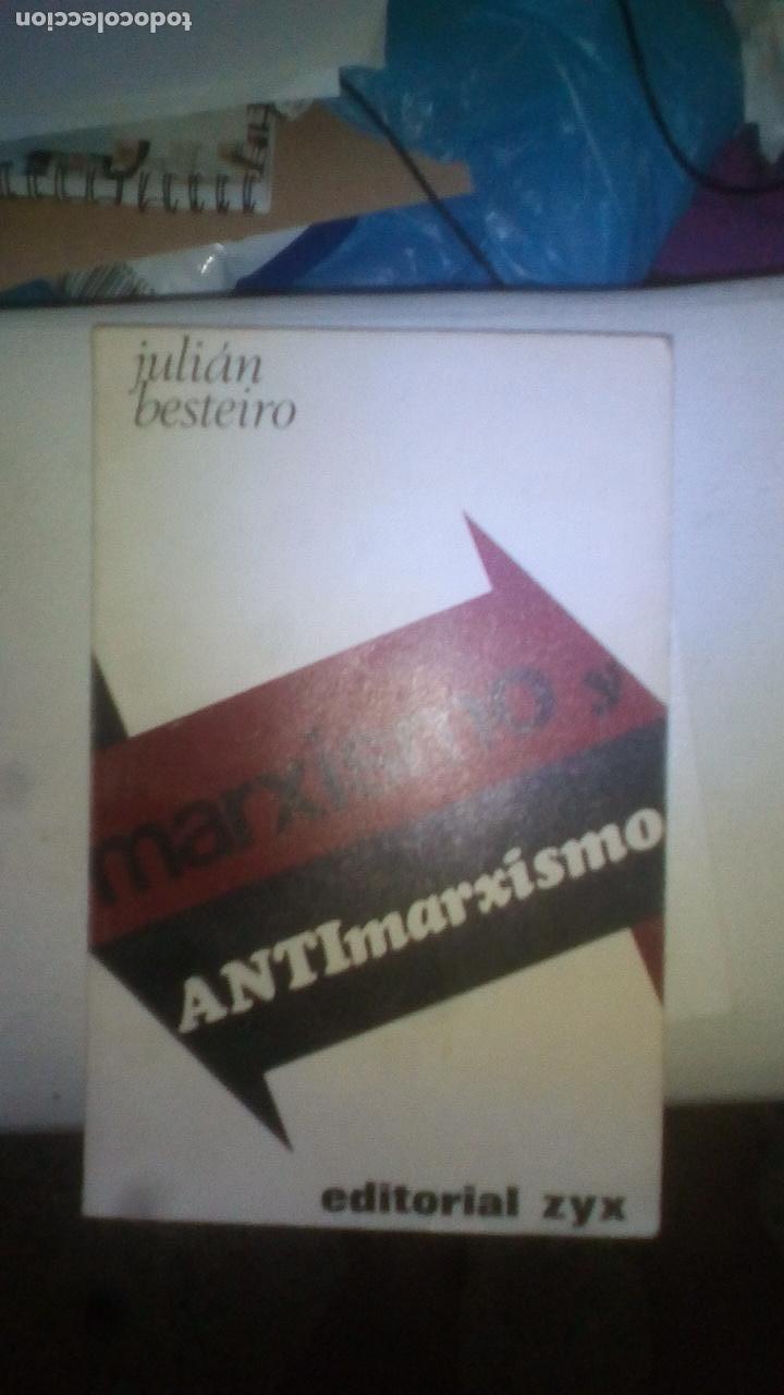 MARXISMO Y ANTIMARXISMO - JULIÁN BESTEIRO (Libros de Segunda Mano - Historia - Guerra Civil Española)