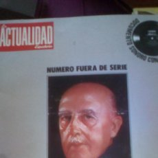 Libros de segunda mano: LA ACTUALIDAD ESPAÑOLA - FRANCO 40 AÑOS DE LA HISTORIA DE ESPAÑA - SIN DISCO. Lote 98177731