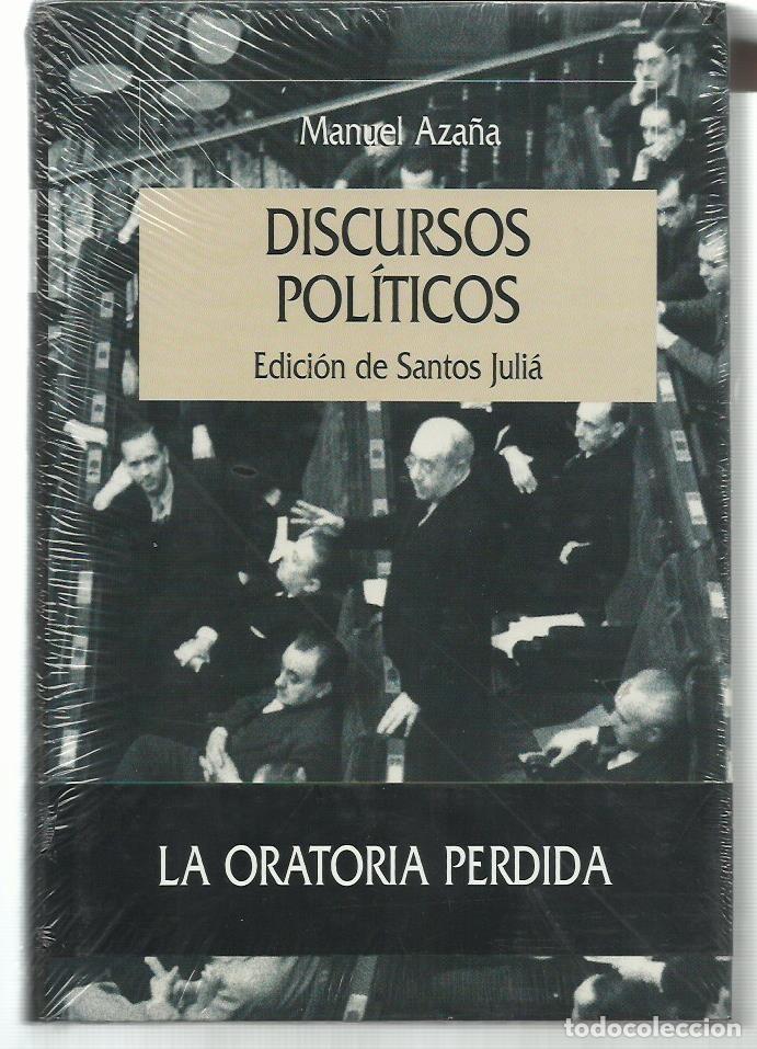 MANUEL AZAÑA : DISCURSOS POLÍTICOS. (EDICIÓN DE SANTOS JULIÁ. ED. CRÍTICA, SERIE MAYOR, 2003) (Libros de Segunda Mano - Historia - Guerra Civil Española)
