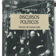 Livros em segunda mão: MANUEL AZAÑA : DISCURSOS POLÍTICOS. (EDICIÓN DE SANTOS JULIÁ. ED. CRÍTICA, SERIE MAYOR, 2003). Lote 98396743
