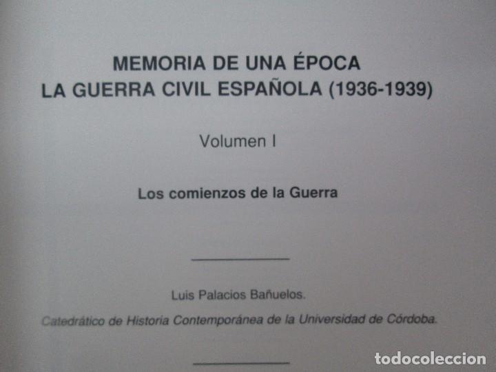 Libros de segunda mano: LA GUERRA CIVIL ESPAÑOLA. LUIS PALACIOS BAÑUELOS. 7 LIBROS. EDICION EDILIBRO. VER FOTOGRAFIAS - Foto 7 - 98874471