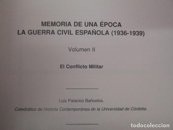 Libros de segunda mano: LA GUERRA CIVIL ESPAÑOLA. LUIS PALACIOS BAÑUELOS. 7 LIBROS. EDICION EDILIBRO. VER FOTOGRAFIAS - Foto 17 - 98874471