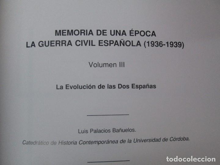 Libros de segunda mano: LA GUERRA CIVIL ESPAÑOLA. LUIS PALACIOS BAÑUELOS. 7 LIBROS. EDICION EDILIBRO. VER FOTOGRAFIAS - Foto 23 - 98874471