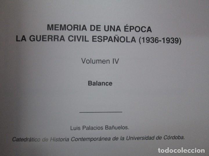 Libros de segunda mano: LA GUERRA CIVIL ESPAÑOLA. LUIS PALACIOS BAÑUELOS. 7 LIBROS. EDICION EDILIBRO. VER FOTOGRAFIAS - Foto 31 - 98874471