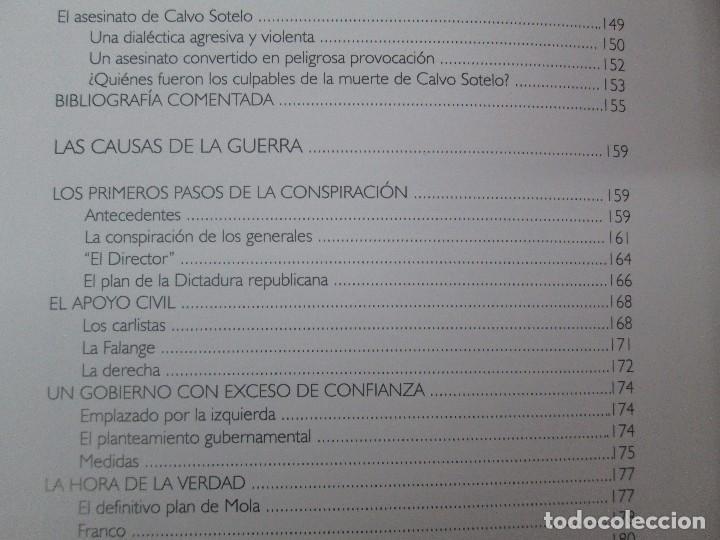 Libros de segunda mano: LA GUERRA CIVIL ESPAÑOLA. LUIS PALACIOS BAÑUELOS. 7 LIBROS. EDICION EDILIBRO. VER FOTOGRAFIAS - Foto 42 - 98874471