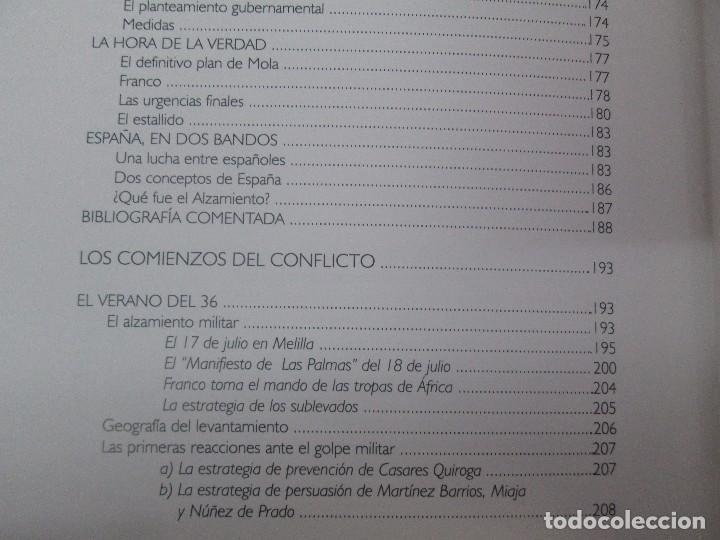 Libros de segunda mano: LA GUERRA CIVIL ESPAÑOLA. LUIS PALACIOS BAÑUELOS. 7 LIBROS. EDICION EDILIBRO. VER FOTOGRAFIAS - Foto 43 - 98874471