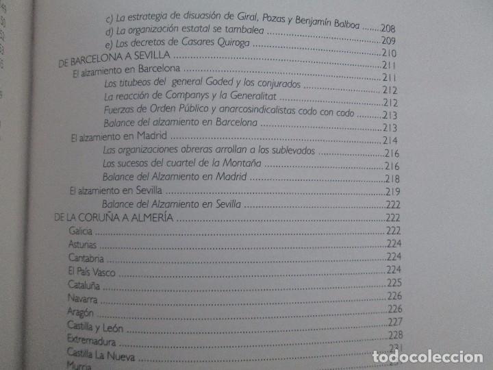 Libros de segunda mano: LA GUERRA CIVIL ESPAÑOLA. LUIS PALACIOS BAÑUELOS. 7 LIBROS. EDICION EDILIBRO. VER FOTOGRAFIAS - Foto 44 - 98874471
