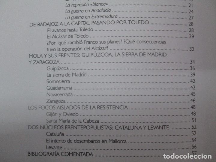 Libros de segunda mano: LA GUERRA CIVIL ESPAÑOLA. LUIS PALACIOS BAÑUELOS. 7 LIBROS. EDICION EDILIBRO. VER FOTOGRAFIAS - Foto 47 - 98874471