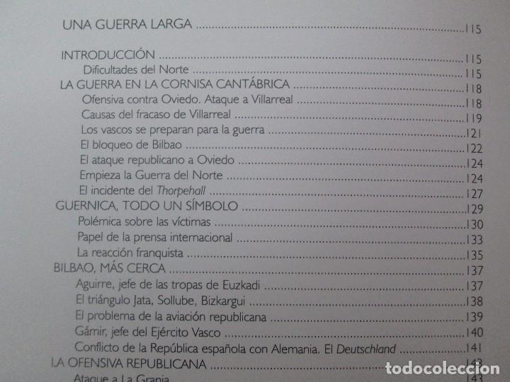 Libros de segunda mano: LA GUERRA CIVIL ESPAÑOLA. LUIS PALACIOS BAÑUELOS. 7 LIBROS. EDICION EDILIBRO. VER FOTOGRAFIAS - Foto 50 - 98874471