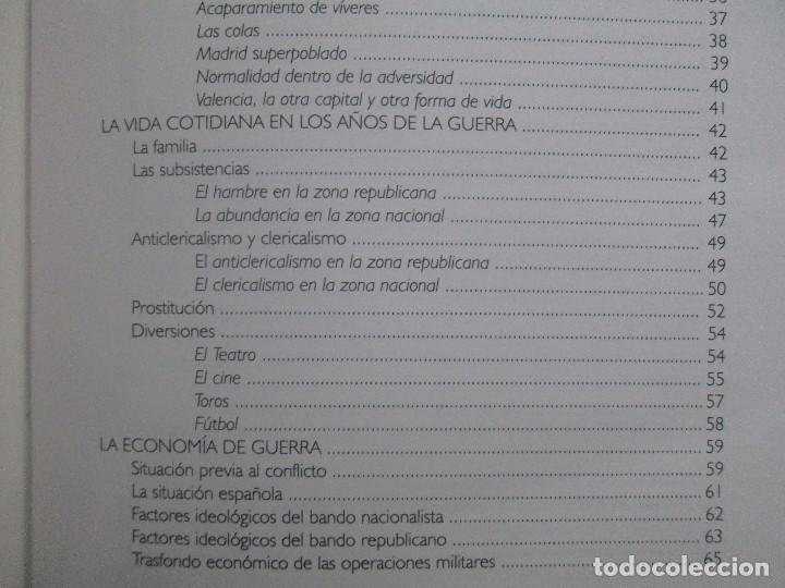 Libros de segunda mano: LA GUERRA CIVIL ESPAÑOLA. LUIS PALACIOS BAÑUELOS. 7 LIBROS. EDICION EDILIBRO. VER FOTOGRAFIAS - Foto 57 - 98874471
