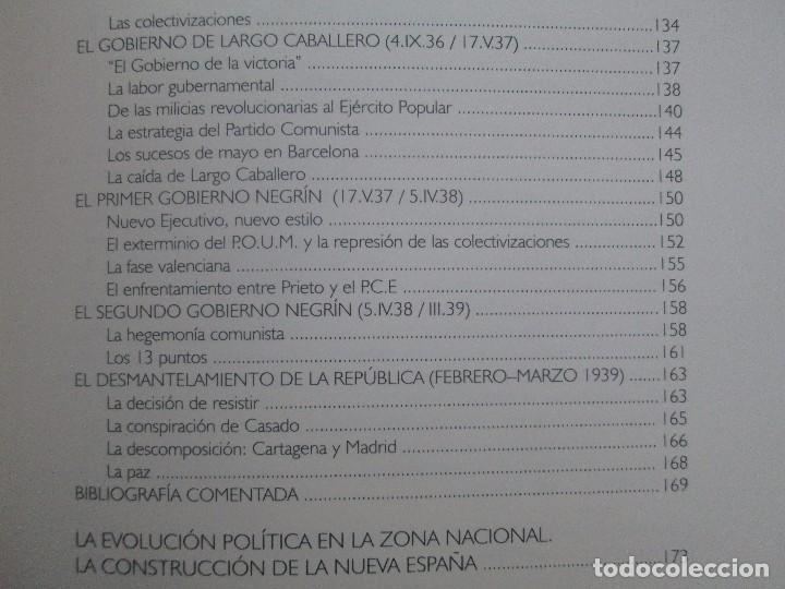 Libros de segunda mano: LA GUERRA CIVIL ESPAÑOLA. LUIS PALACIOS BAÑUELOS. 7 LIBROS. EDICION EDILIBRO. VER FOTOGRAFIAS - Foto 60 - 98874471