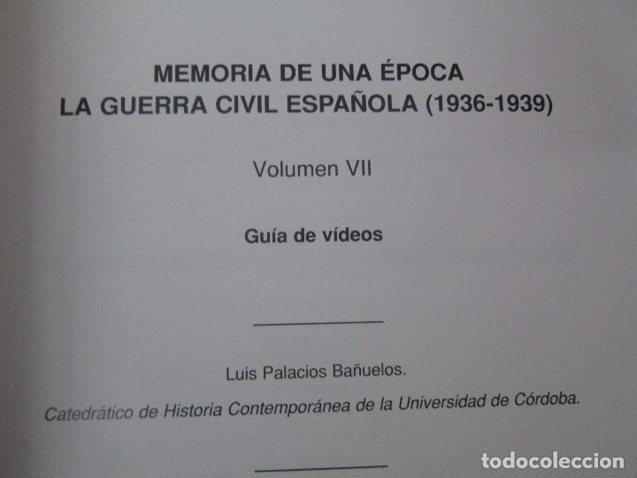 Libros de segunda mano: LA GUERRA CIVIL ESPAÑOLA. LUIS PALACIOS BAÑUELOS. 7 LIBROS. EDICION EDILIBRO. VER FOTOGRAFIAS - Foto 73 - 98874471