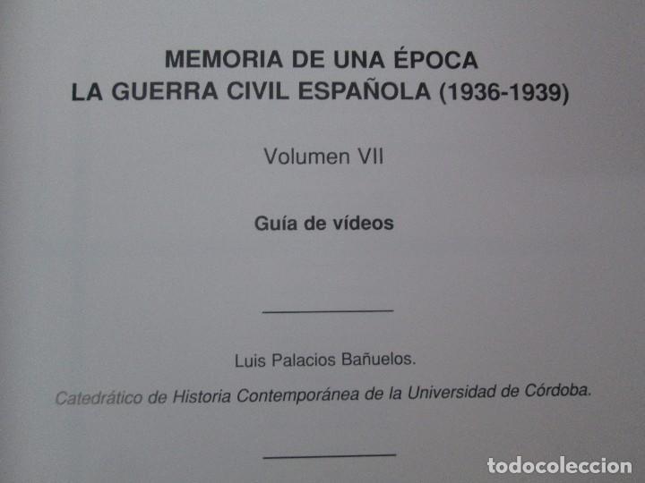 Libros de segunda mano: LA GUERRA CIVIL ESPAÑOLA. LUIS PALACIOS BAÑUELOS. 7 LIBROS. EDICION EDILIBRO. VER FOTOGRAFIAS - Foto 75 - 98874471