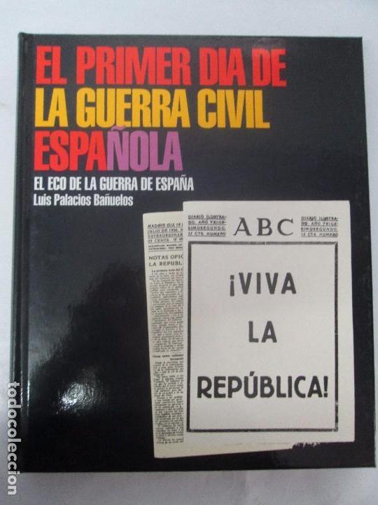 Libros de segunda mano: LA GUERRA CIVIL ESPAÑOLA. LUIS PALACIOS BAÑUELOS. 7 LIBROS. EDICION EDILIBRO. VER FOTOGRAFIAS - Foto 81 - 98874471