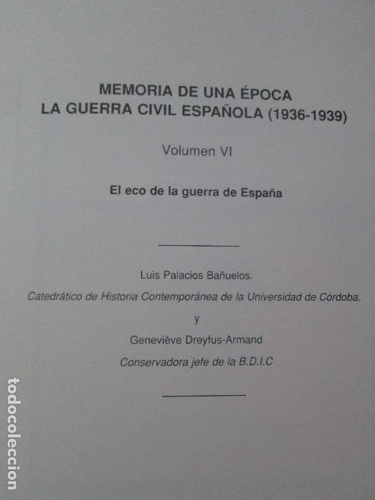 Libros de segunda mano: LA GUERRA CIVIL ESPAÑOLA. LUIS PALACIOS BAÑUELOS. 7 LIBROS. EDICION EDILIBRO. VER FOTOGRAFIAS - Foto 83 - 98874471