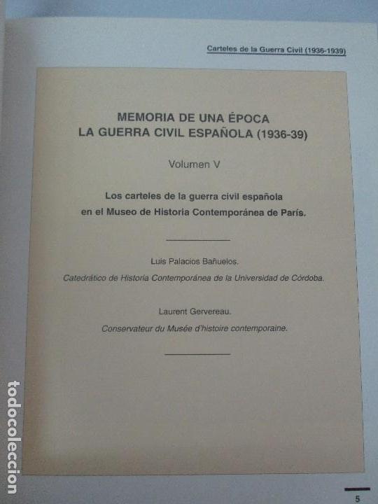 Libros de segunda mano: LA GUERRA CIVIL ESPAÑOLA. LUIS PALACIOS BAÑUELOS. 7 LIBROS. EDICION EDILIBRO. VER FOTOGRAFIAS - Foto 95 - 98874471