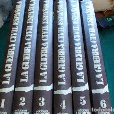 Libros de segunda mano: LA GUERRA CIVIL ESPAÑOLA EDTORIAL URBIÓN 6 TOMOS. Lote 100299799