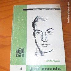 Libros de segunda mano: JOSE ANTONIO PRIMO DE RIVERA - ANTOLOGIA - ADRIANO GOMEZ - ED. DONCEL 1969 - EDUCACION FALANGE. Lote 101381083