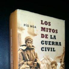Libros de segunda mano: LOS MITOS DE LA GUERRA CIVIL / PIO MOA. Lote 101456435