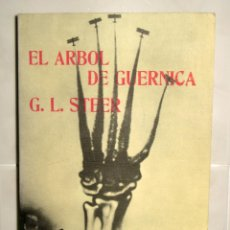 Libros de segunda mano: EL ÁRBOL DE GUERNICA. G. L. STEER.EDITORIAL FELMAR 1978.. Lote 101919919