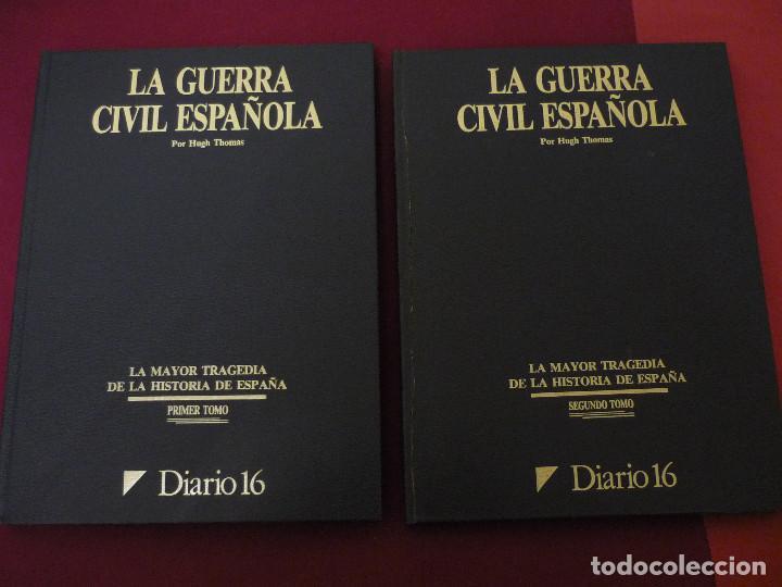 LA GUERRA CIVIL ESPAÑOLA - DIARIO 16 - COMPLETO - 2 TOMOS (Libros de Segunda Mano - Historia - Guerra Civil Española)