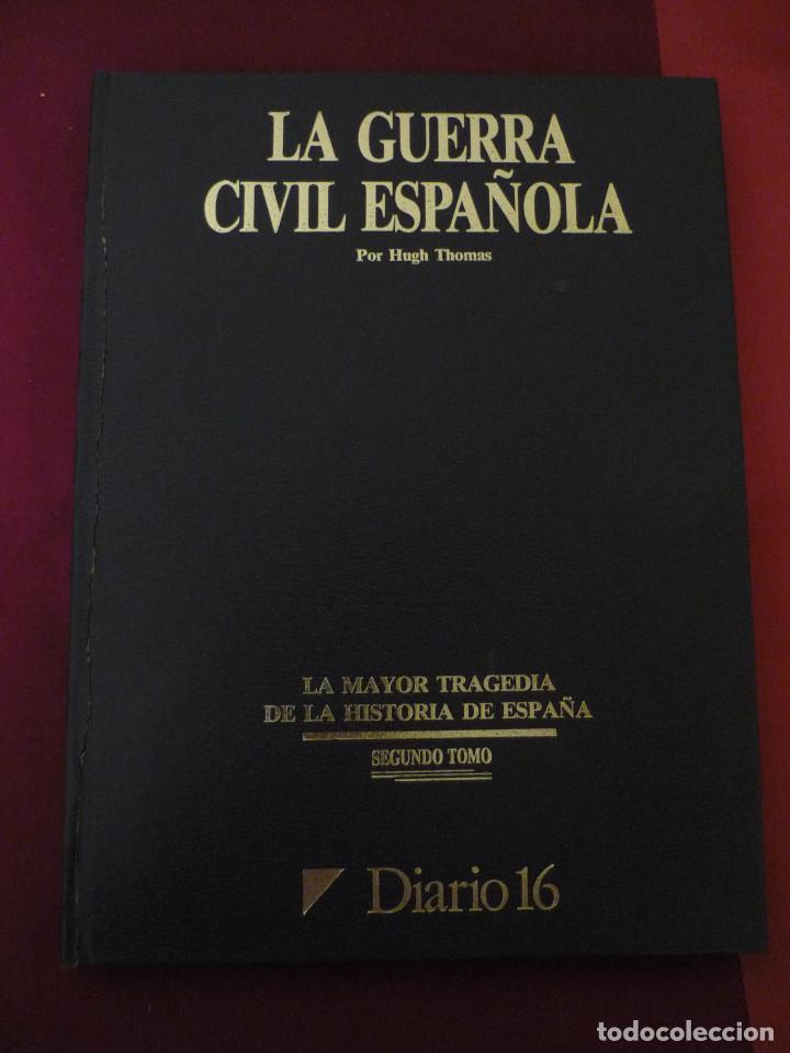 Libros de segunda mano: La guerra civil española - Diario 16 - Completo - 2 tomos - Foto 2 - 129958419