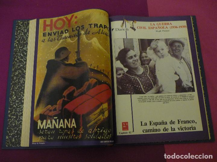 Libros de segunda mano: La guerra civil española - Diario 16 - Completo - 2 tomos - Foto 4 - 129958419