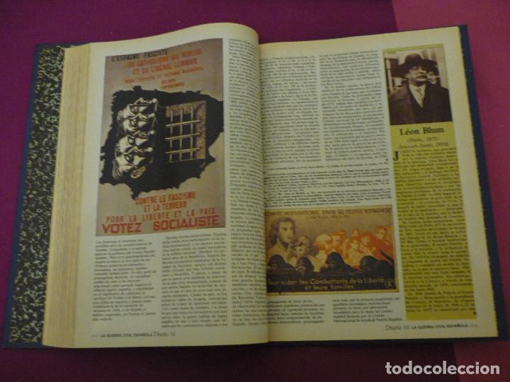 Libros de segunda mano: La guerra civil española - Diario 16 - Completo - 2 tomos - Foto 5 - 129958419