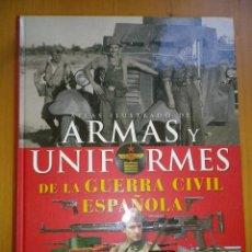Libros de segunda mano: ATLAS ILUSTRADO DE ARMAS Y UNIFORMES DE LA GUERRA CIVIL ESPAÑOLA SUSAETA. Lote 103495227