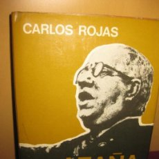 Libros de segunda mano: AZAÑA. CARLOS ROJAS. EDITORIAL PLANETA 1973. Lote 103617991