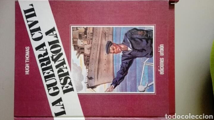 Libros de segunda mano: Coleccion Guerra Civil española. Hugh Thomas - Foto 3 - 103873580