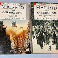 Libros de segunda mano: MADRID EN LA GUERRA CIVIL. DOS VOLÚMENES.. Lote 107309359