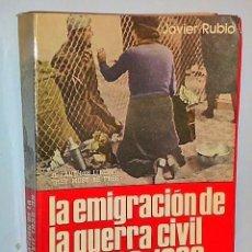 Libros de segunda mano: LA EMIGRACIÓN DE LA GUERRA CIVIL DE 1936-1939. VOLUMEN PRIMERO.. Lote 107318319