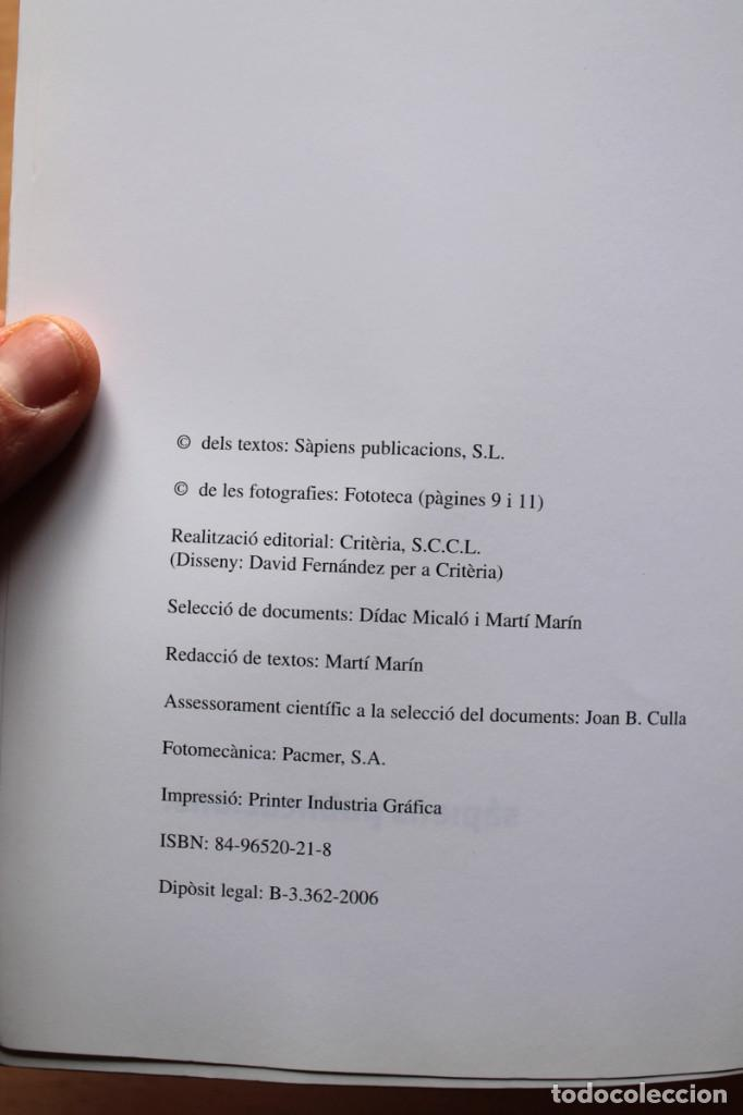 Libros de segunda mano: Martí Marín i Dídac Micaló - Els papers confiscats de Salamanca - Sàpiens / El Periódico - Foto 2 - 112325931
