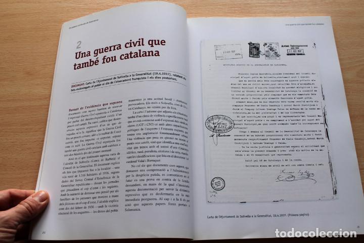 Libros de segunda mano: Martí Marín i Dídac Micaló - Els papers confiscats de Salamanca - Sàpiens / El Periódico - Foto 3 - 112325931