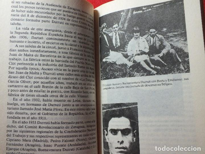 Libros de segunda mano: LA MUERTE DE DURRUTI JOAN LLARCH GUERRA CIVIL ESPAÑOLA - Foto 6 - 113430939