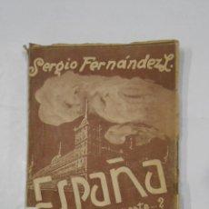 Libros de segunda mano: ESPAÑA ¿ZONA DE PESTE..?. - FERNANDEZ LARRAIN, SERGIO. 1945. TDK99. Lote 113571155