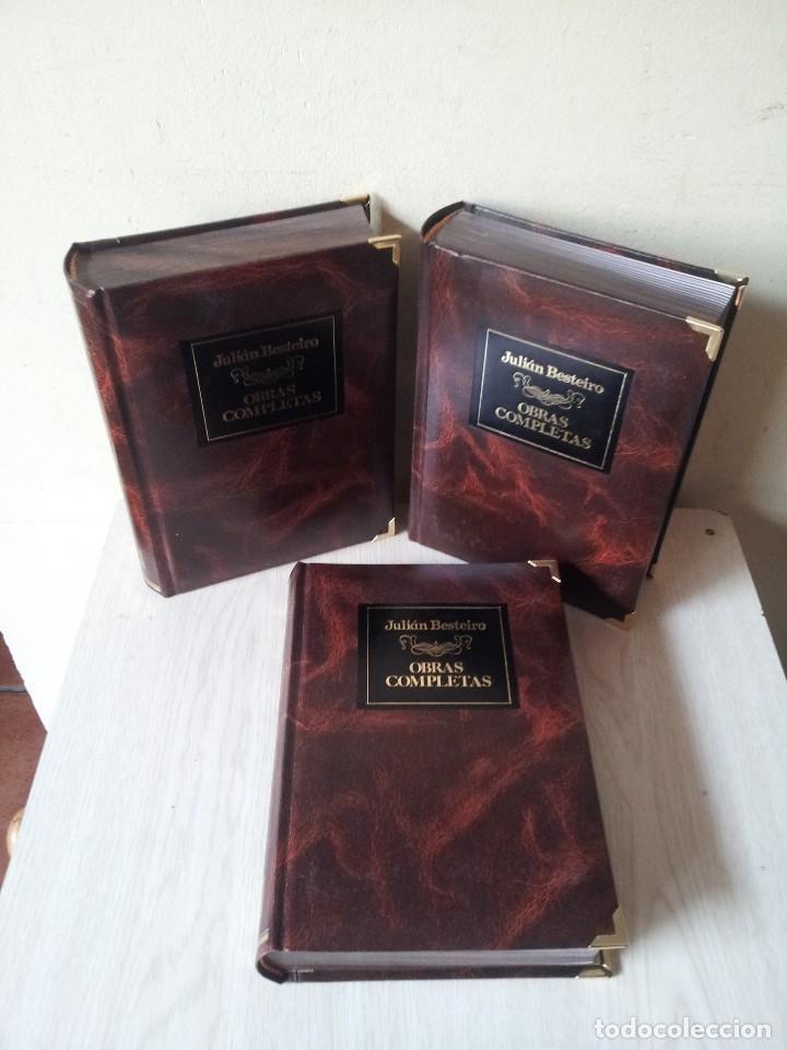 Libros de segunda mano: JULIAN BESTEIRO - OBRAS COMPLETAS EN ESTUCHE DE LUJO 3 TOMOS - 1ª EDICION CREDILIBRO 1983 - Foto 2 - 113782235