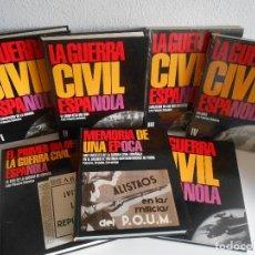 Libros de segunda mano: LA GUERRA CIVIL ESPAÑOLA . LUIS PALACIOS BAÑUELOS. 7 TOMOS.. Lote 114420507