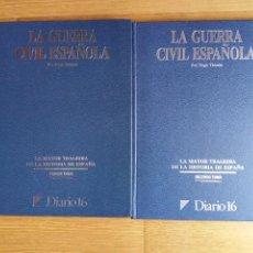 Libros de segunda mano: 2 TOMOS LA GUERRA CIVIL ESPAÑOLA POR HUGH THOMAS - DIARIO 16. Lote 115408859