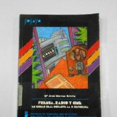 Libros de segunda mano: PRENSA RADIO Y CINE EN CIUDAD REAL DURANTE LA II SEGUNDA REPÚBLICA. MARIA JESÚS MORENO BETETA TDK112. Lote 116439015